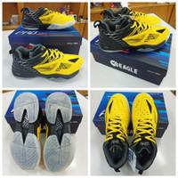 Sepatu Badminton Eagle SSpro 1 yellow/Black