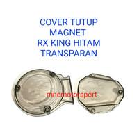 COVER TUTUP BLOK BAK MAGNET KOPLING RX KING TRANSPARAN