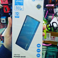 POWER BANK VIVAN VPB-F10S 10000MAH FAST CHARGING 3.0