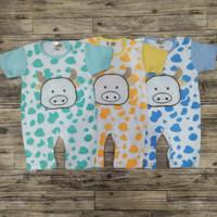 Baju Kodok Jumper Anak Bayi Bahan Kaos Katun Adem
