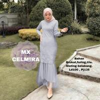 dress brukat wanita muslim murah /maxy / gamis pesta baju kondangan