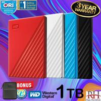 WD Passport New 1TB USB 3.0 Hdd Eksternal / Harddisk External 2..5