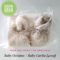 Baby Gurita / Baby Octopus Beku Frozen Kemasan 400g - 500g