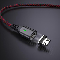 Vivan MGM100 2.4A Super Strong Magnetic Quick Charge Micro Data Cable