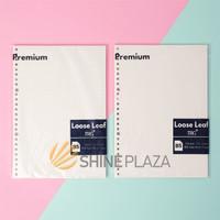 Isi Loose Leaf B5 Premium TRG - Refill Binder Paper B5 Dotted Grid