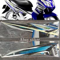 Striping Stiker & list body Yamaha Nouvo Z 2005 2006 biru