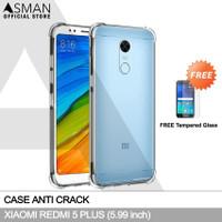 Softcase Anti Crack Elegant Casing Hp Xiaomi Redmi 5 plus Free TG