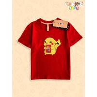 Kaos Baju anak Kids Pokemon Pikacu Pikachu Pocky