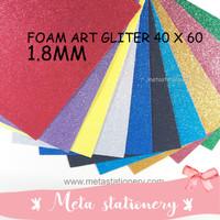 Kertas Busa Manik / Foam Art Glitter Bazic 40x60
