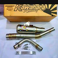Knalpot Kawahara GT PRO Jupiter Z Vega R 200cc Road Race Original Kawa