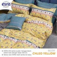 Bedcover&Sprei Katun ESRA Motif CHLEO YELLOW Ukuran 140x200-200x200cm