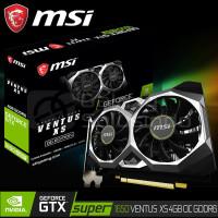 VGA MSI GeForce GTX 1650 SUPER Ventus XS 4GB OC GDDR6
