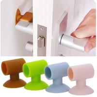 Penahan gagang pintu / Pengaman benturan gagang pintu / Bantalan pintu