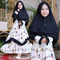 Baju Muslim Anak Perempuan Terbaru Syari Firda Bw