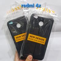 Sofcase Autofocus Full Black Redmi 4X