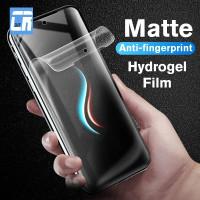 SAMSUNG A8 2018 HYDROGEL MATTE ANTI GORES ANTI GLARE - DEPAN