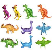 Balon Foil Dino 4D / Balon Dinosaurus Jumbo / Balon Karakter Dino