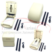 Console Box Xpander Armrest All New Livina Arm Rest Expander - BEIGE