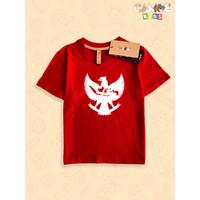 Kaos Baju anak Kids Merah putih Garuda peta Indonesia