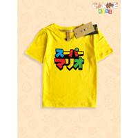 Kaos Baju anak Kids Mario Bros japan jepang