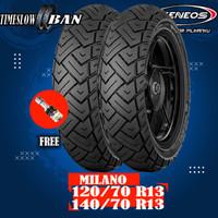 Paket Ban Motor YAMAHA NMAX // ZENEOS MILANO 120/70 - 140/70 Ring 13