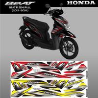Decal Striping Sticker Variasi Thailand Honda Beat Fi Semi full