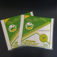 kertas nasi putih KFC MCD BURGER / MG Paper Walalaa 100lembar