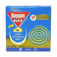 Obat Nyamuk Baygon Max / DBD / Lavender Bakar 10 Jam Kotak