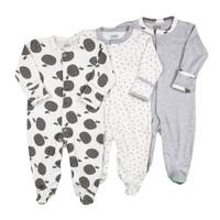 BABYPOTATO - Premium Baby Sleepsuit motif Apple - 0-3 Bulan