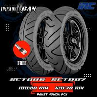 Paket Ban Motor HONDA PCX // IRC SCT-006 100/80-IRC SCT-007 120/70