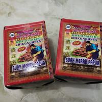 Buah merah Papua serbuk jamu herbal pegel linu asam urat
