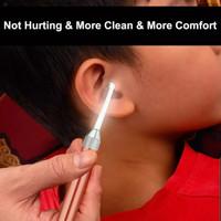 Pembersih telinga / Korek Kuping Led Bahan aluminium dan pvc lentur