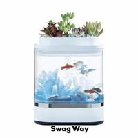 Xiaomi Smart Aquarium Geometry Akuarium Ikan Guppy Cupang LED Fishtank
