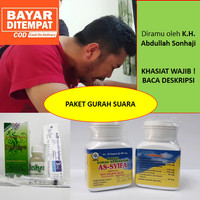 BEST SELLER-Paket Obat Gurah Suara Merdu Kapsul - Tetes gurah hidung