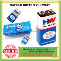 Baterai Batre Battery Kotak 9V 9 Volt