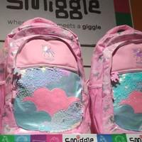 Smiggle Lunar Backpack pink girl