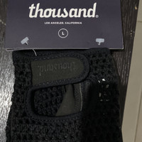 thousand gloves black