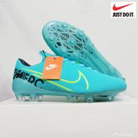 Promo Termurah Sepatu Bola Nike Mercurial Terbaru Sol Bening - Orange, 38