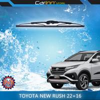 7x7 Sepasang Wiper Kaca Depan Toyota Rush New 2018-ON 22 & 16