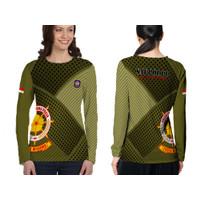 Tshirt Baju Kaos Wanita Longsleave Satpol PP 01