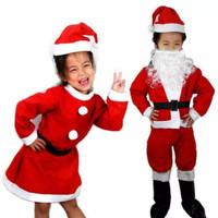 Kostum Santa Claus Natal 3in1 Untuk Anak Cowok Dan Wanita/Baju Natal