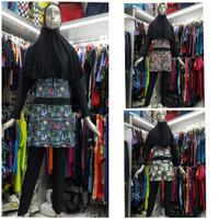 Baju Renang Muslimah Dewasa Motif Muslim Tangan Lengan Panjang