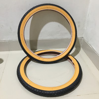 Ban Luar Sepeda 18 x 1.75 1,75 LUCKY STONE ETRTO 355 Hitam Kuning