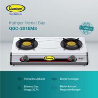 Kompor Gas Quantum 2 Tungku QGC - 201 EMS