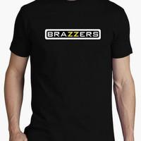 kaos t shirt kaos pria BRAZZERS keren bagus warna stok tersedia
