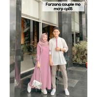 FARZANA COUPLE Baju Gamis Pasangan Pria Dan Wanita Murah Terbaru 2020