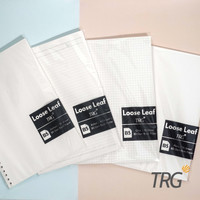 Isi Loose Leaf B5 TRG - Refill Binder Paper B5 Dotted Grid Plain Ruled - Dotted