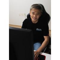 Korea Reomit Jaga Jarak Dulu T-Shirt - Black (Unisex)