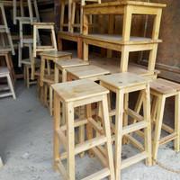 kursi model A kayu jati Belanda