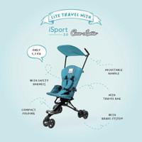 Stroller Cocolatte I-Sport / Isport / Kereta Dorong Bayi - Blue Wave